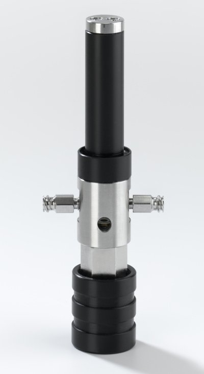 Composite needleless rod emitter